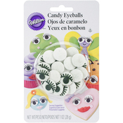 Eyelash Eyeballs - Candy Decorations 1oz
