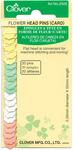 20/Pkg - Flower Head Pins