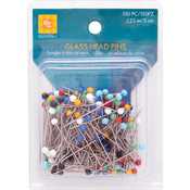 Size 20 150/Pkg - Glass Head Pins