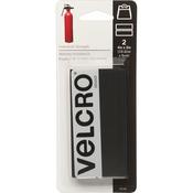 "Black - VELCRO(R) Brand Industrial Strength Tape 4""X2"" 2/Pkg"
