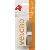 "Beige - VELCRO(R) Brand Sew-On Soft & Flexible Tape 5/8""X30"""