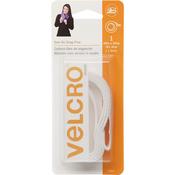 "White - VELCRO(R) Brand Sew-On Snag-Free Tape 3/4""X18"""