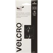 "Black  - VELCRO(R) Brand Industrial Strength Coins 1""X3/4"" 10/Pkg"