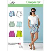 4-6-8-10-12 - SIMPLICITY MISSES SKIRTS PANTS