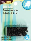 "Black - Upholstery Steel Tacks 3/8"" 1.5oz"