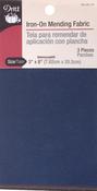 "Dark Assortment - Iron-On Mending Fabric 3-1/4""X8"" 1/Pkg"