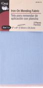 "Light Assortment - Iron-On Mending Fabric 3-1/4""X8"" 1/Pkg"