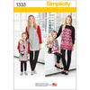 3 - 8 /XS-XL - Simplicity Child Sportswear
