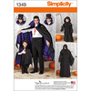 S - L / S - XL - Simplicity Crafts Costumes