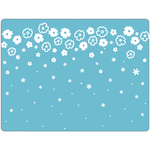 Cascading Flowers By Brenda Walton - Sizzix Textured Impressions A2 Embossing Folder