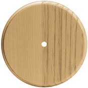 "Pine Wood Clock Face - 7"" Round"