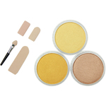 Metallics-Light Gold, Rich Gold & Bronze - PanPastel Ultra Soft Artist Pastel Set 9ml 3/Pkg