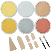 Metallics - PanPastel Ultra Soft Artist Pastel Set 9ml 6/Pkg