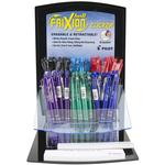 Assorted Colors - Pilot FriXion Fine Point Clicker Erasable Pen Display 72pcs