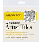 """Bristol Vellum - Strathmore Artist Tiles 4""""X4"""" 20/Pkg"""