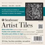 """Black - Strathmore Artist Tiles 6""""X6"""" 30/Pkg"""