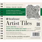 "Recycled Sketch - Strathmore Artist Tiles 6""X6"" 70/Pkg"