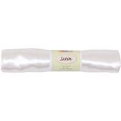 "White - Fabric Palette Satin Precut 45""X72"""