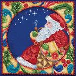 "5""X5"" 18 Count - Jim Shore Santa Counted Cross Stitch Kit"