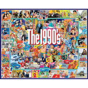 "The Nineties - Jigsaw Puzzle 1000 Pieces 24""X30"""