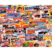 "Tasty Treats - Jigsaw Puzzle 1000 Pieces 24""X30"""