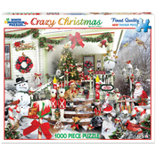 "Crazy Christmas - Jigsaw Puzzle 1000 Pieces 24""X30"""