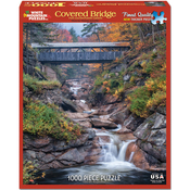"Covered Bridge - Jigsaw Puzzle 1000 Pieces 24""X30"""