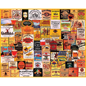 """Great Whiskies - Jigsaw Puzzle 1000 Pieces 24""""X30"""""""