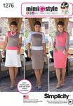6-8-10-12-14 - SIMPLICITY MISSES DRESS