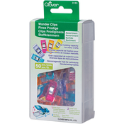 Assorted Colors 50/Pkg - Wonder Clips