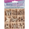 Butterfly - Wooden Shapes 45/Pkg Darice-Wooden Shapes. The perfect start or addition to your crafting ideas! This 4x4x1/2 inch package contains forty-five wooden shapes in nine designs (five of each design). Comes in a variety of designs. Each sold separately. Imported.