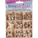 Butterfly - Wooden Shapes 45/Pkg