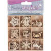 Christmas - Wooden Shapes 45/Pkg
