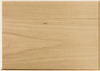 Basswood Rectangle Thin Plaque