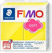 Lemon - Fimo Soft Polymer Clay 2oz