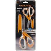 """RazorEdge Softgrip Fabric Scissors 5"""" & 8"""""""