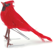 "Male Cardinal - Mushroom Bird 5"""