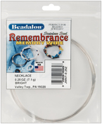 Bright - 9 Coils - Remembrance Memory Wire Necklace .62mm .25oz