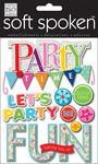 Party Time Bash - Soft Spoken Themed Embellishments
