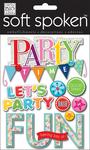 Party Time Bash - Soft Spoken Themed Embellishments