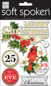 Painted Christmas - Soft Spoken Themed Embellishments