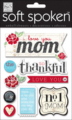 I Love You, Mom - Soft Spoken Themed Embellishments