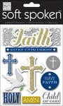 Faith - Soft Spoken Themed Embellishments
