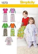 4-5-6-7-8 - Simplicity Toddlers Sleepwear