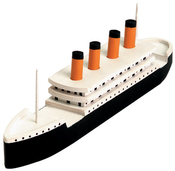 "Titanic 7.25""X2"" - Wood Model Kit"