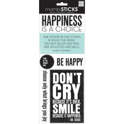Happiness Is A Choice - Sayings Stickers