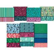 """40pcs - True Colors-Amy Butler 2.5""""X44"""" Design Roll"""