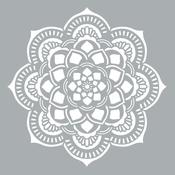 "Mandala - Americana Decor Stencil 18""X18"""