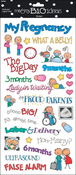 Pregnancy - Sayings Stickers