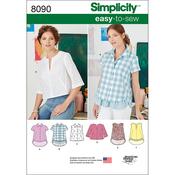6-8-10-12-14 - SIMPLICITY TOPS, VEST, JKTS, COATS